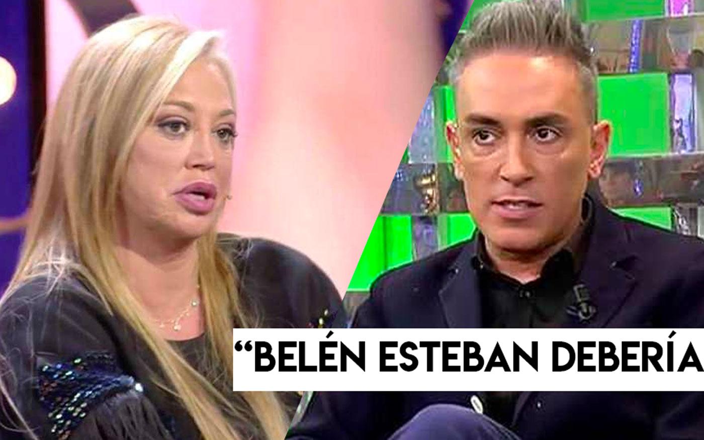 Belén Esteban y Kiko Hernández
