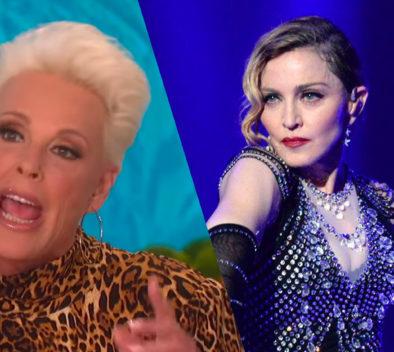 Brigitte Nielsen y Madonna