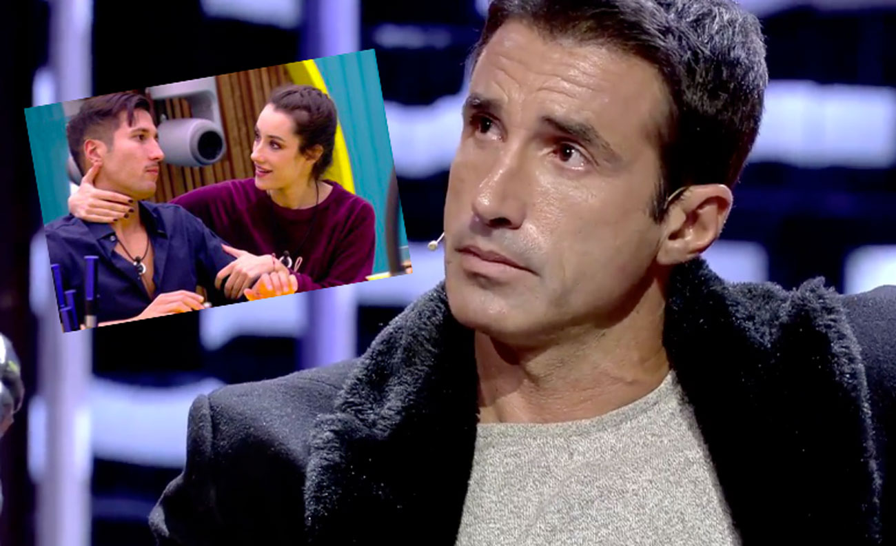 Hugo llorando por Adara