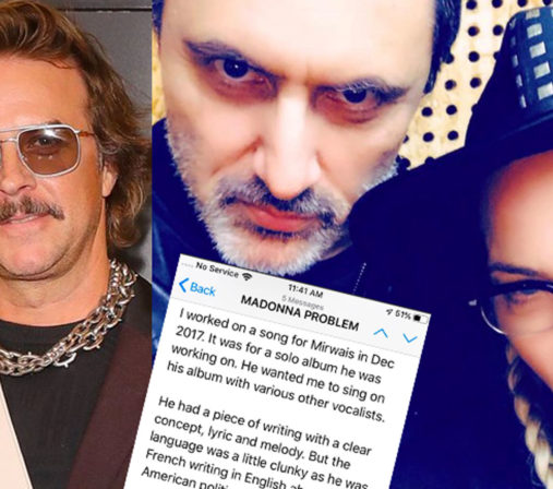 Casey Spooner Madonna Mirwais God Control