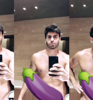Noel Bayarri desnudo