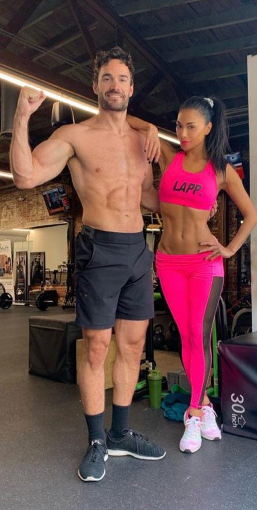 Thom Evans y Nicole Scherzinger