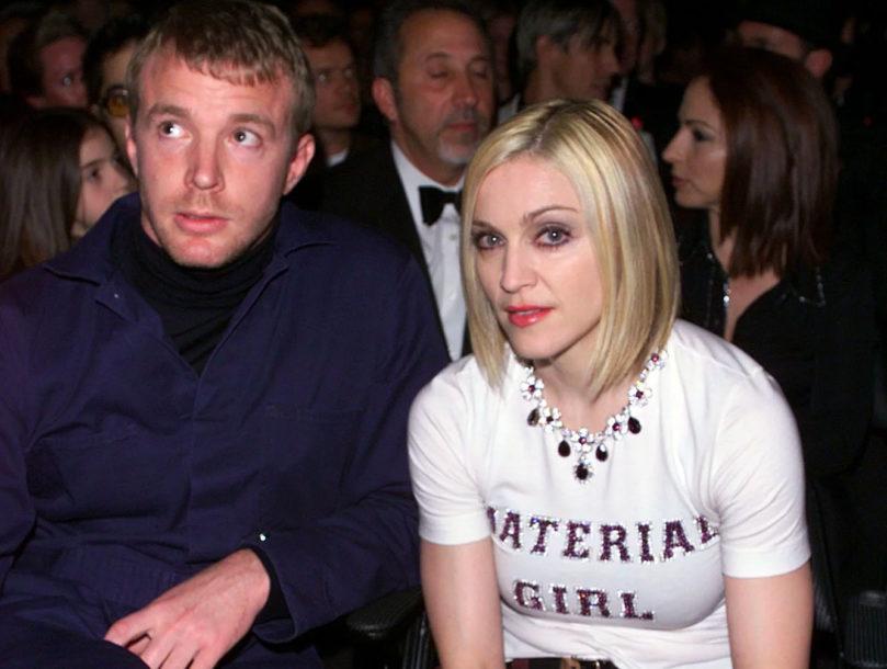 Madonna y Guy
