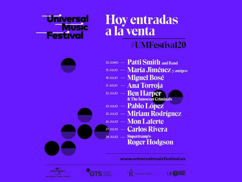 Entradas Universal Music Festival