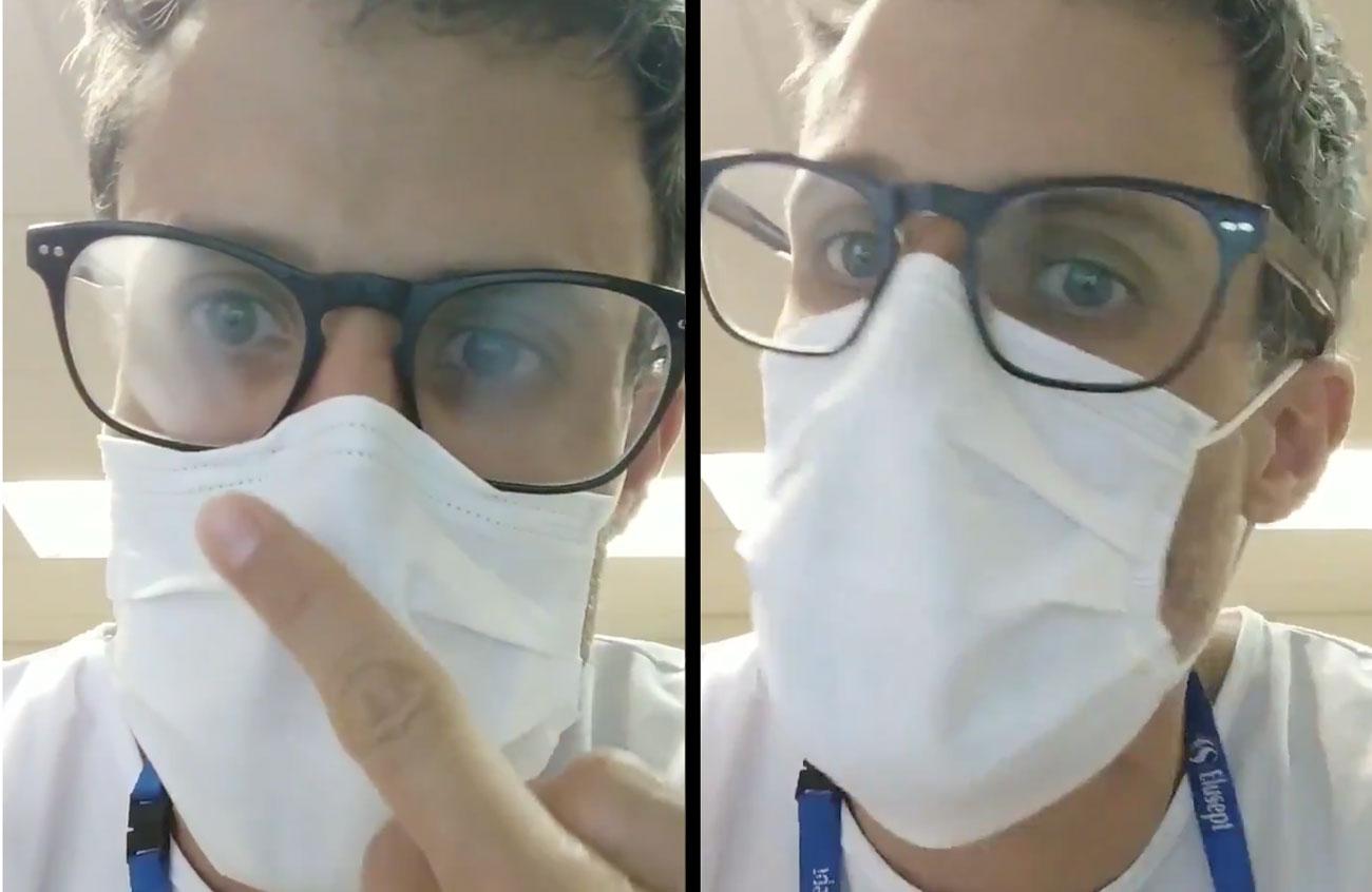 truco para que no se empañen las gafas con mascarilla