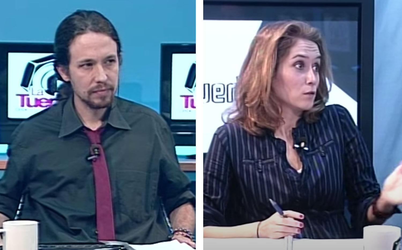 Isabel García Ayuso y Pablo Iglesias