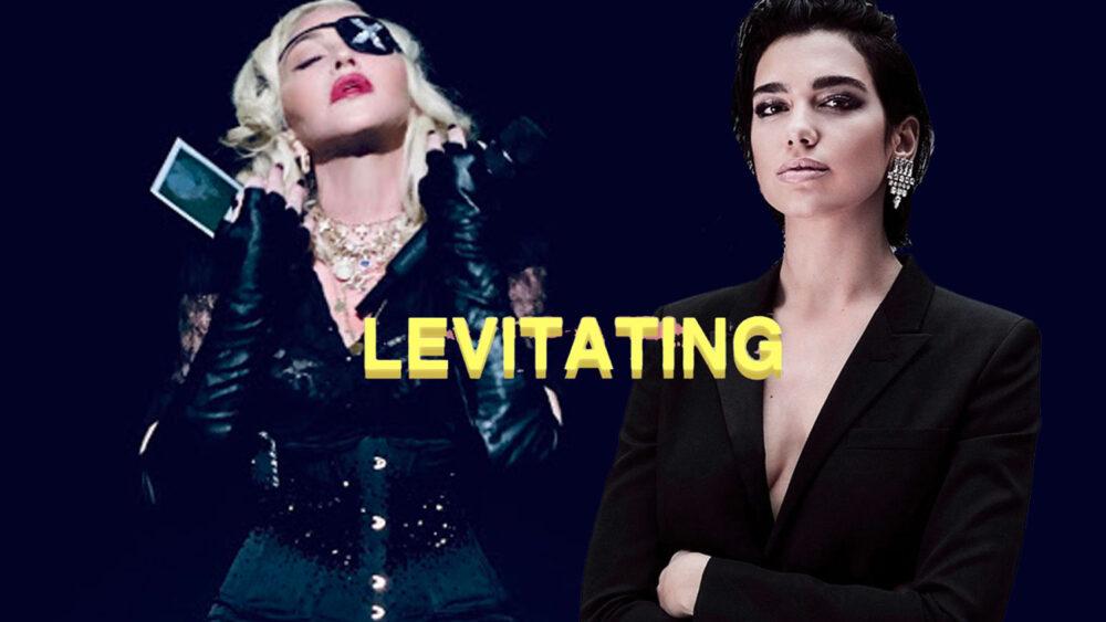 Madonna Dua Lipa Levitating