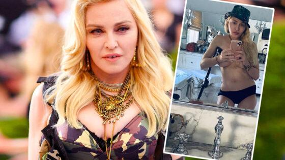 Madonna muletas