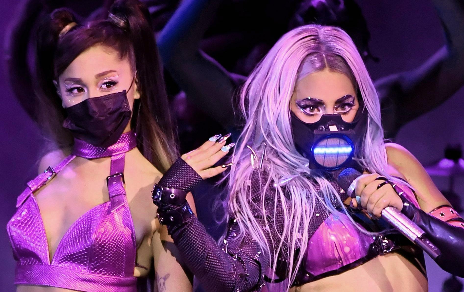 Lady Gaga y Ariana Grande MTV