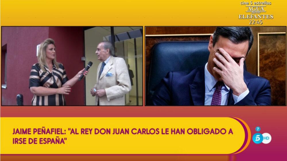 Jaime Peñafiel Juan Carlos I