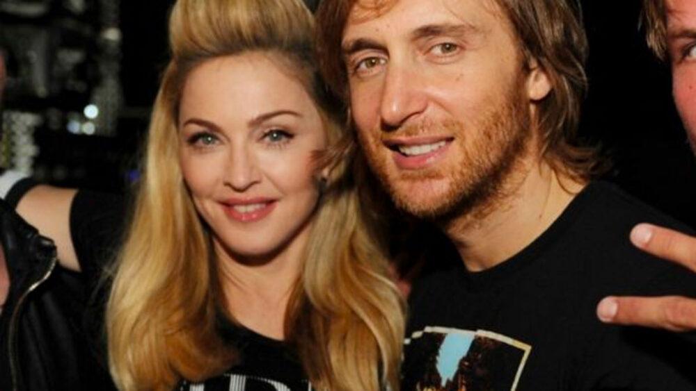 Madonna David Guetta