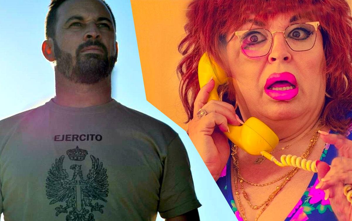 Satiago Abascal y Paca La Piraña
