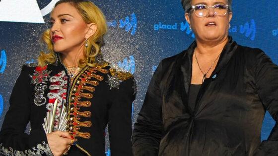 Madonna Rosie O'Donnell