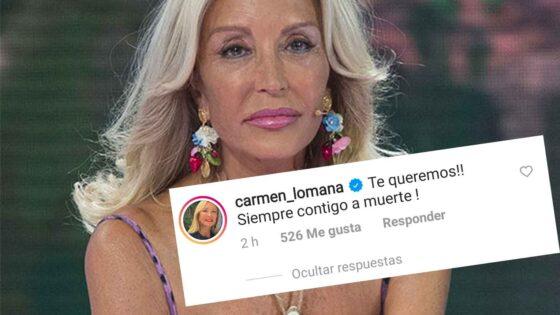 Carmen Lomana Sara Carbonero