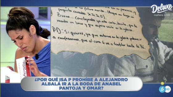 La carta de Isa P